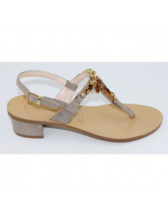 Sandalo Artigianale Gioiello